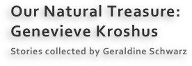 Our Natural Treasure: